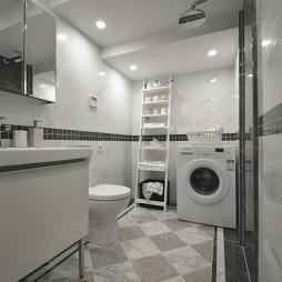 家装现代风格卫浴图片