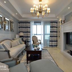 最新美式客厅装修案例