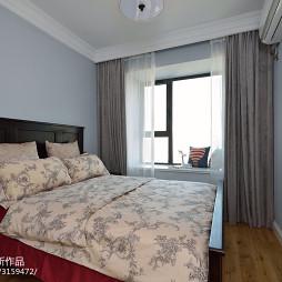 简洁美式二居室卧室装修