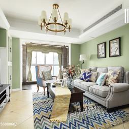 简约美式客厅设计案例