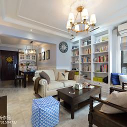 别致美式风格客厅设计