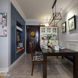 美式二居室餐厅设计案例