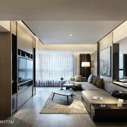 最新现代风格客厅装修案例