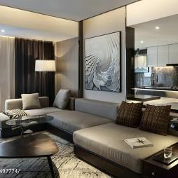 精美现代风格客厅装修设计