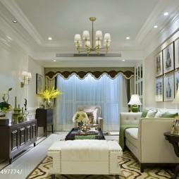 质感现代风格样板间客厅装修