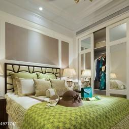 样板间现代风格卧室装修