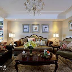 复古美式客厅设计方案