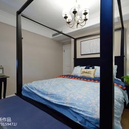 美式二居室卧室装饰图