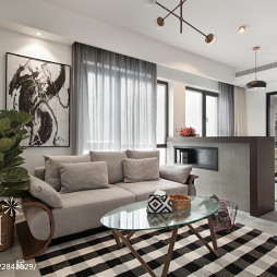 最新北欧风格客厅设计案例