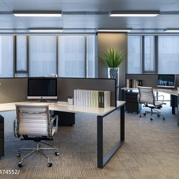 办公室室内办公区装修