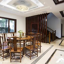 现代中式风格餐厅装修