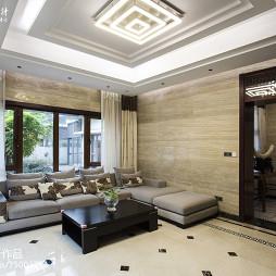 现代中式风格客厅装饰图