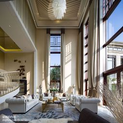 现代风格豪华别墅客厅设计
