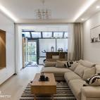 清新日式三居室客厅装修