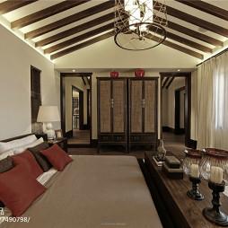 古典中式风格卧室效果图
