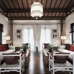 经典中式风格客厅装修