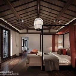 古雅中式风格卧室设计