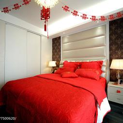 田园风格婚房卧室设计