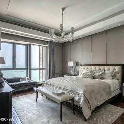 白色简欧风格卧室设计