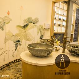 茶馆洗手间设计