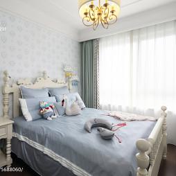 质感美式卧室布置