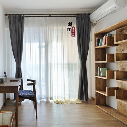 素净北欧风格书房装修