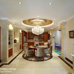 家装欧式风格餐厅装修