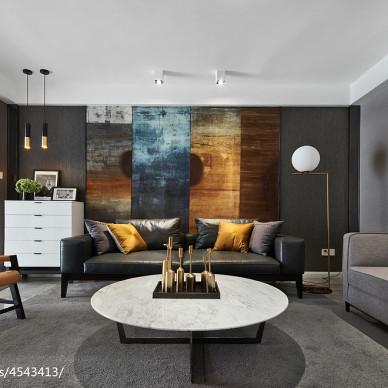 最新混搭风格客厅设计图片