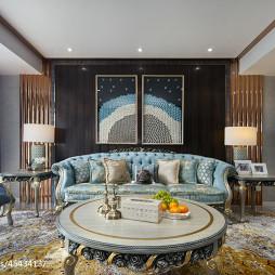 唯美简欧风格客厅设计