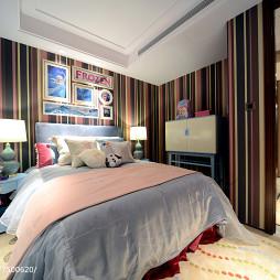 时尚东南亚风格卧室效果图