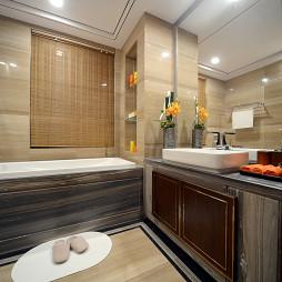 家居东南亚风格卫浴图片