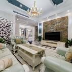 浪漫欧式风格客厅设计大全