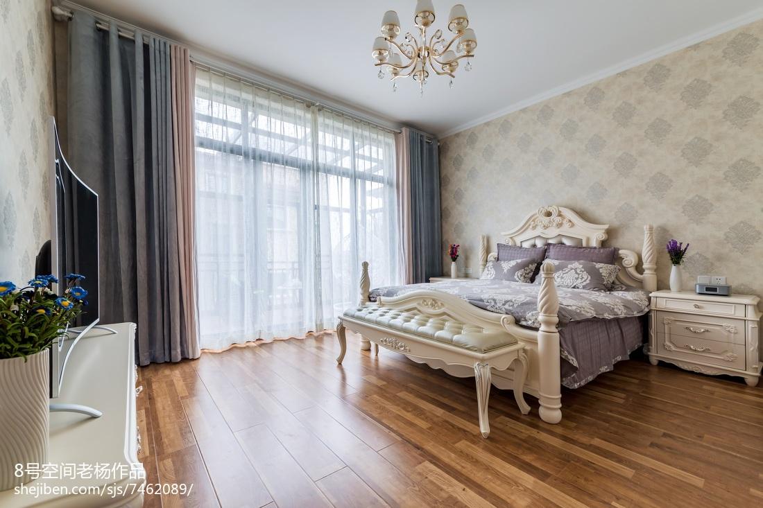 舒适欧式别墅卧室设计
