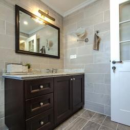 美式风格卫浴柜装修