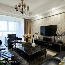 新古典风格家居客厅设计方案