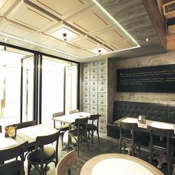 连锁咖啡厅座位设计