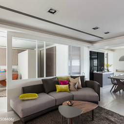 最新现代风格客厅装饰图