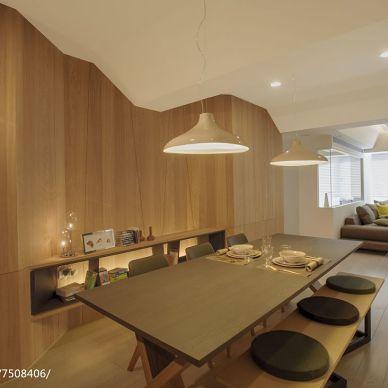 禅意现代风格餐厅装修案例