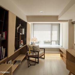 简单现代风格书房装修大全