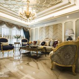 高贵欧式风格客厅设计