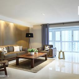 质感现代风格客厅设计案例