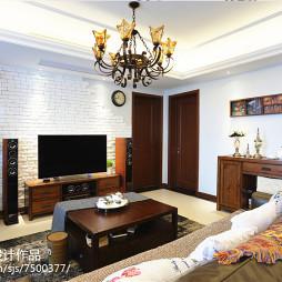 美式风格别致客厅设计