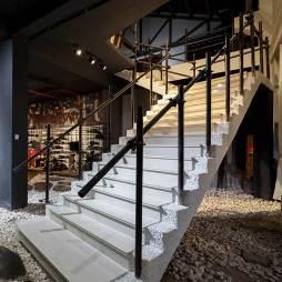工业风影楼楼梯设计