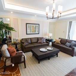 家居新中式风格客厅装修