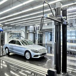 奔驰高级设计中心装修 效果图
