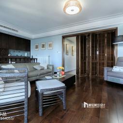 中式風格復式客廳設計
