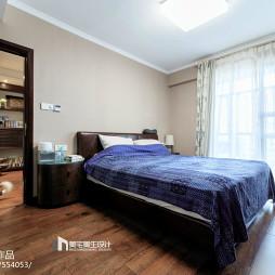 家装中式风格卧室装修图片
