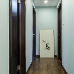 简约中式风格过道设计
