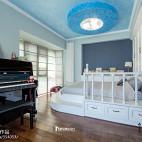 中式风格白色系儿童房设计