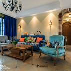 怀旧美式客厅设计